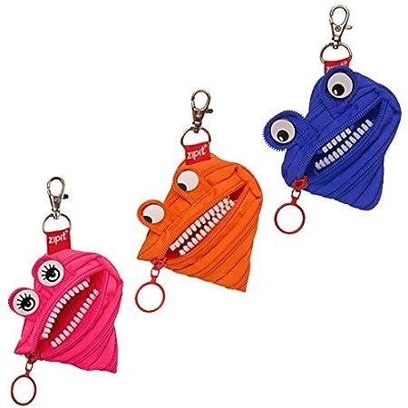 Amazon.com: ZIPIB_12, 3-unidades (azul, naranja, rosado ...