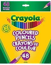 Crayola 48 Coloured Pencils Arts & Crafts