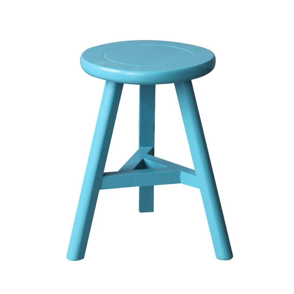 B DYR color Stool H44CM Stool shoes Bench Table Stool (color  A)