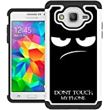 Galaxy On5 Case, Samsung On5 Case, UrSpeedtekLive [Shock Absorption] Dual Layer Hybrid Defender Protective Case Cover for Samsung Galaxy On5 (2015 Release) - Don't Touch
