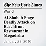 Al-Shabab Stage Deadly Attack on Beachfront Restaurant in Mogadishu | Mohammed Ibrahim,Jeffrey Gettleman