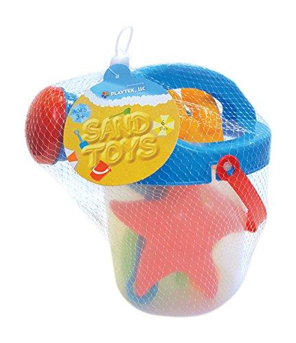 Bucket Bath Set (Playtek PT6047 Beach Sand Toys)