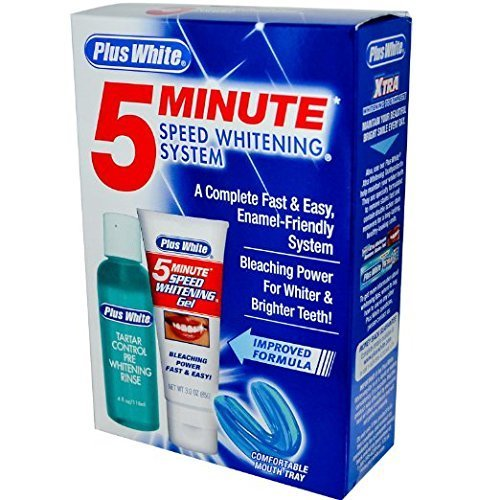 (Plus White 5-Minute Speed Whitening System Improved Formula)