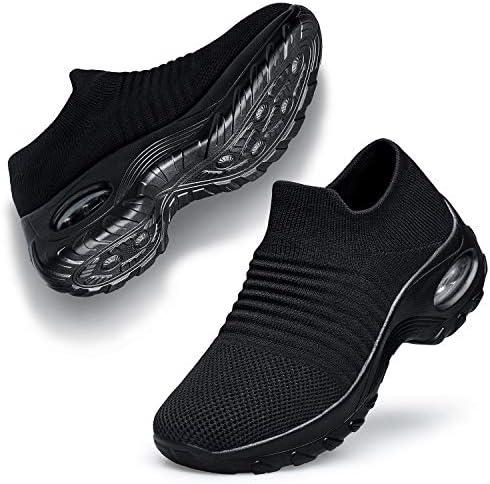 Belilent Womens Walking Shoes - Slip on