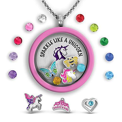Unicorn Necklace Unicorn Necklace For Women Inspirational Jewelry Gifts For Teens | Unicorn Stuff For Daughter Necklace Gifts | Unicorn Jewelry Unicorn Charm | Unicorn Pendant Necklace