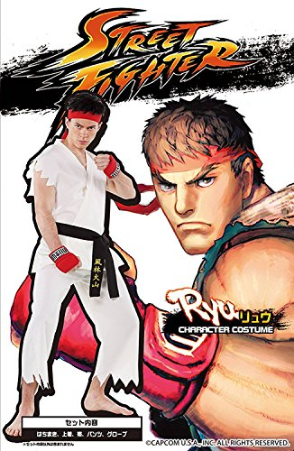 Ryu Street Fighter Costume (Street Fighter official costume Ryu Costume for)