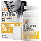 Invisible Zinc Facial Moisturizer SPF30