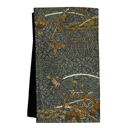 和道楽着物屋 正絹 仕立て上がり 袋帯 【お仕立て済み】<br>番号d604-8 着物 レディース 和装