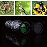 HAMISS for Ultra-Lightweight Panda Monocular Vision 40x60 HD Optical Monocular Camping Hiking Telescope for Travel #2Y03