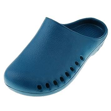 95fa1af7 IPOTCH Zueco de Trabajo Zapatos Antideslizantes Zapatillas Enfermeras  Transpirables Pantuflas para Estar por Casa Baño: Amazon.es: Deportes y  aire libre