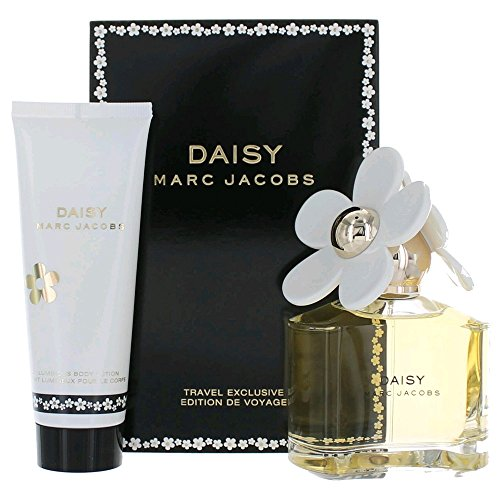 Marc Jacobs Daisy for Women 2 Pieces Travel Set (3.4 Oz Eau De Toilette spray / 2.5 Body Lotion)