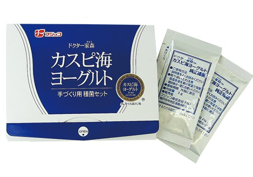 【公式】フジッコ カスピ海ヨーグルト手づくり用種菌(1セット)