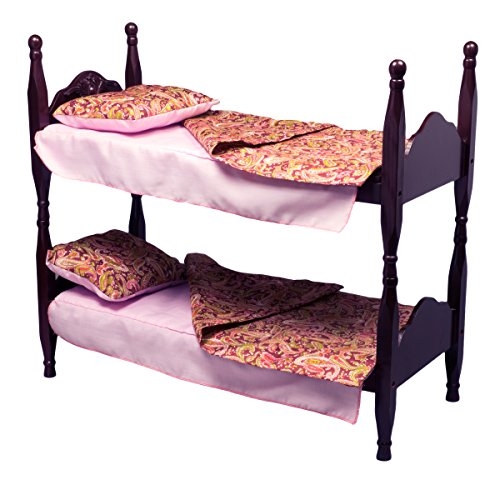 Stackable Beds For Two 18 Inch Dolls Two Wooden Beds That