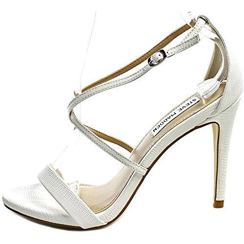 Steve Madden Feliz Femmes US 8 Blanc Sandales