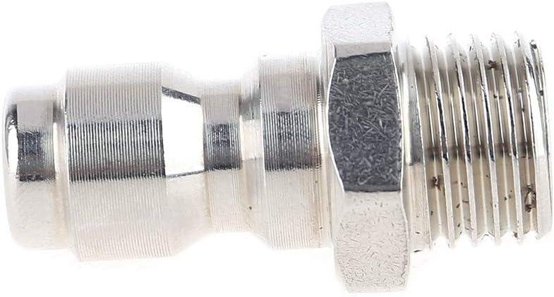 TY-UNLESS Pulitore di scarico idropulitrice Jetter tubo draga ugello 1 anteriore 3//6 posteriore 1//4