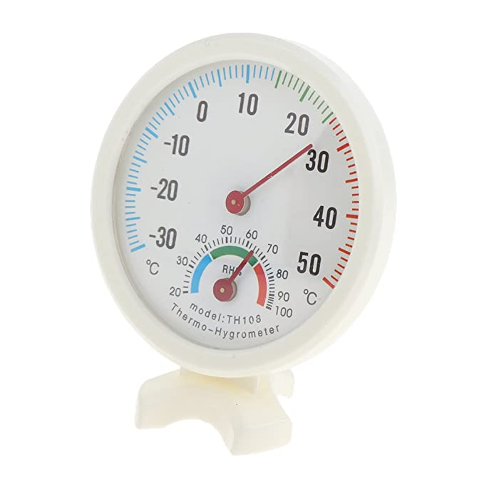 Large Round Hygrometer Thermometer Temperature Humidity Monitor Meter Gauge