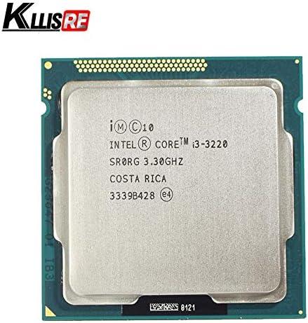 MAO YEYE Intel Core i3 3220 3.3GHz 3M Cache Dual-Core CPU Processor SR0RG LGA 1155