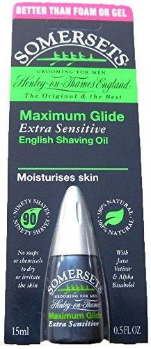 Somersets Extra Sensitive Shaving Oil, 15ml Bottles (2 - Stores Somerset
