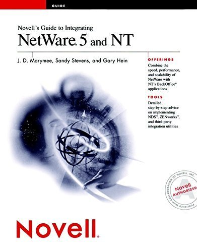 Novell's Guide to Integrating NetWare 5 and NT by Marymee, J. D., Stevens, Sandy, Hein, Gary (1999) Paperback by Wiley