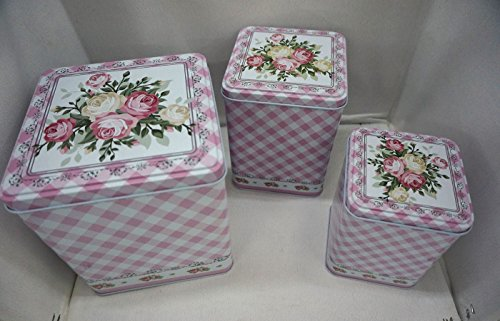 Flowers Cookie Gift Tin - 5