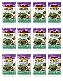 Annie Chun s Organic Seaweed Snacks, Sea Salt, 0.16 oz (Pack of 12), America s #1 Selling Seaweed Snacks