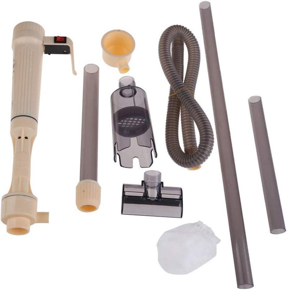 SeaStart - Filtro de Acuario eléctrico para Aspirador de Acuario Alimentado por Pilas: Amazon.es: Productos para mascotas