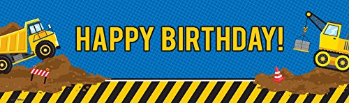 Handy Manny Costume Make (Construction Party Decorations - Vinyl Birthday Banner (18