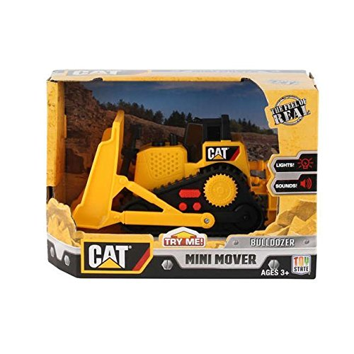 - Cat Motorized Items CAT34613 Cat Mini Mover Bulldozer In Box with Lights & Sound ^G#fbhre-h4 8rdsf-tg1339772
