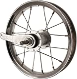 Sta Tru Steel Single Speed Coaster Brake Hub Rear Wheel (12X1.75-Inch)