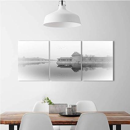 Amazon Com Vanfan Triptych Painting Combination Frameless Fairyland