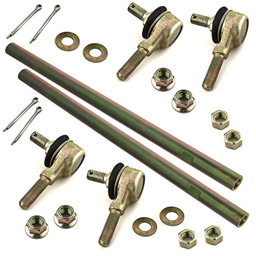 Caltric 2 TIE ROD SET FOR SUZUKI QUADSPORT 400 LT-Z400Z LT-Z400 LTZ400 LTZ400Z 2003 2004