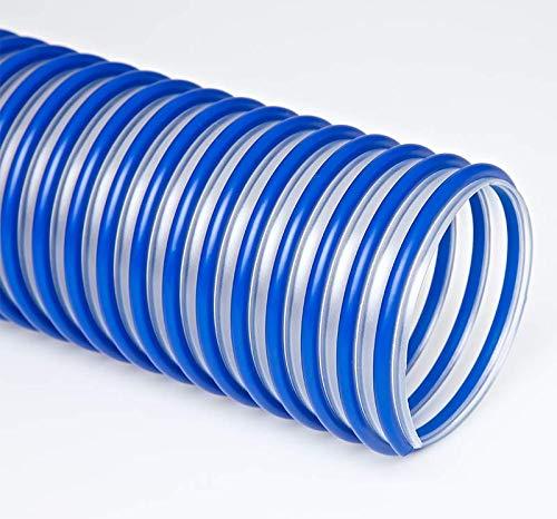 4 8 Ft Reinforced Clear Industrial Dust Flexible Polyurethane Hose