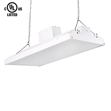 Minimalist HERO LED LHB 110W DW Linear High Bay LED Shop Light 1x2 Awesome - Contemporary 24 fluorescent light fixture Ideas
