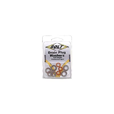 Bolt Motorcycle Hardware (DPWM12.20-50) M12 Drain Plug Washer: Automotive