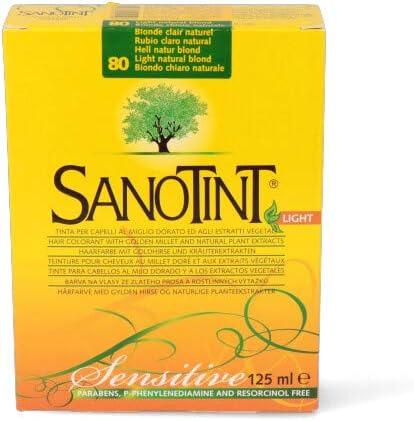 Sanotint Sanotint Sensitive 80 Rubio Claro Natural - 400 g ...