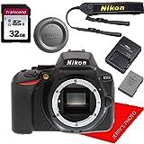 Nikon D5600 DLSR Camera Body + 32GB Memory Bundle