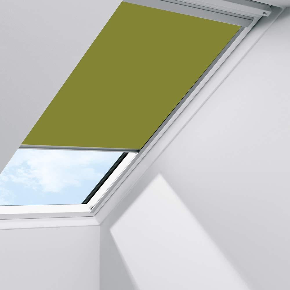 Orignal VELUX Sichtschutzrollo RFL SK08 4079S   Bedienart   Manuell   Farbe   Uni Grün   Fenstergröße   SK08   Fenstertypen   GGU, GGL, GPU, GPL, GTU, GTL, GXU, GXL _24294
