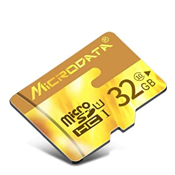 Tarjeta de Memoria - Tarjeta TF (Micro-SD) de 32 GB con ...