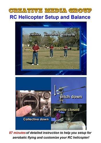 Rc Helicopter Dvd - RC HELICOPTER SETUP & BALANCE by Robert Dickehuth