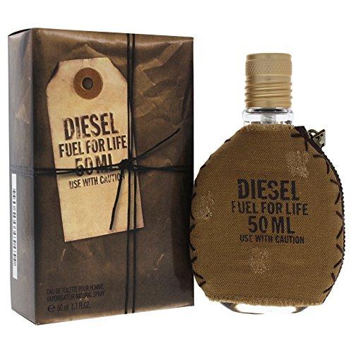 Eau Spray Lust Perfume De (Diesel Fuel for Life Pour Homme Men Eau-de-toilette Spray by Diesel, 1.7 Ounce)