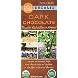 Whole Foods Market Organic Dark Chocolate Tanzania Schoolhouse Project (72% Cacao), 3.5 oz