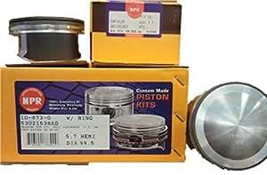 engine piston kit compatible with dodge 5 7l 5. Black Bedroom Furniture Sets. Home Design Ideas