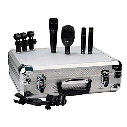 Audix FP QUAD drum mic pack with 1 F6, 1 F5, and 2 F9 microphones by Audix