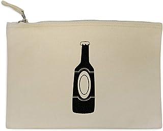 Azeeda 'Bottiglia di Birra' Pochette e Clutch / Custodia per Trucco (CL00003318)