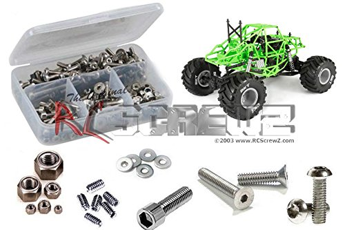 AXI024 - Axial SMT10 Grave Digger (ax90055) Stainless Screw Kit (Screw Digger)