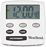 West Bend 40055 Timer, White