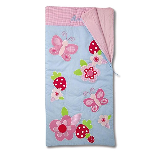 Lillian Vernon Fruits & Flowers Kids Personalized Sleeping Bag -