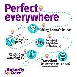 Butterfly Craze Pillow Bed Floor Lounger Cover