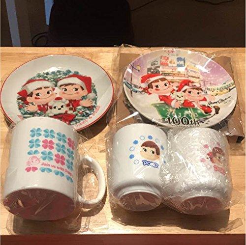 ペコちゃん ポコちゃん 皿 マグカップセット