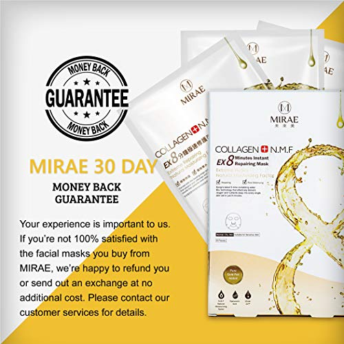 ae0a571c95f3 MIRAE Beauty 8 Minutes Anti-Aging Facial Sheet Mask - Hypoallergenic ...